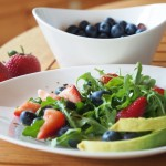 Arugula Salad with Berries