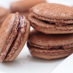 Chocolate Raspberry Macarons