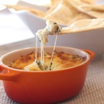 Spinach Artichoke Dip and Chips