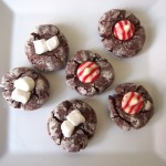 Holiday Cocoa Thumbprint Cookies