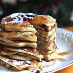 Greek Yogurt Cranberry Pancakes