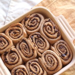 Whole Wheat Chocolate Cinnamon Rolls