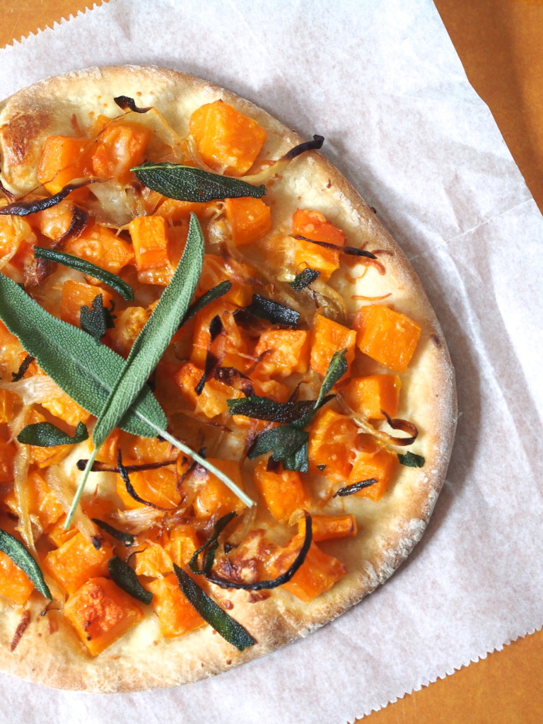 Butternut Squash & Caramelized Onion Flatbread - Not Your Average ...